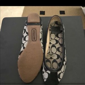 COACH FLAT SHOES